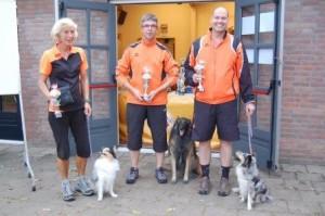 winnaars agility comp 2014